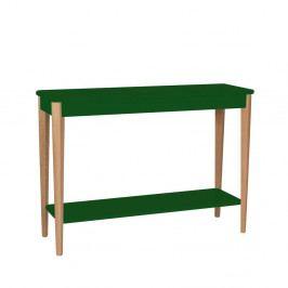 Tmavozelený stolík Ragaba Ashme, šírka 105 cm