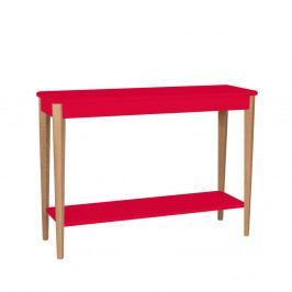 Červený konzolový stolík Ragaba Ashme, šírka 105 cm