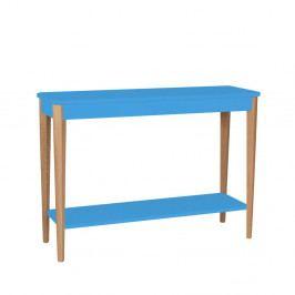 Modrý konzolový stolík Ragaba Ashme, šírka 105 cm