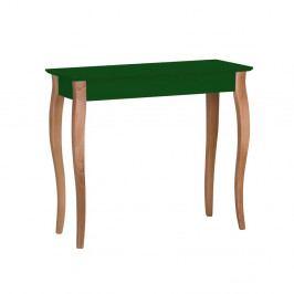 Tmavozelený konzolový stolík Ragaba Lillo, šírka 85 cm