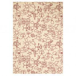 Detský hnedý koberec Zala Living Bambini, 140×200cm