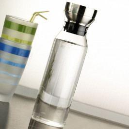 Sklenená fľaša s filtrom Kaylee, 26 × 7 × 7 cm