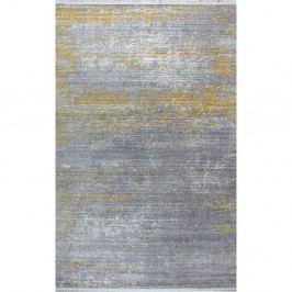 Koberec Shaggy Yellow, 133×190 cm