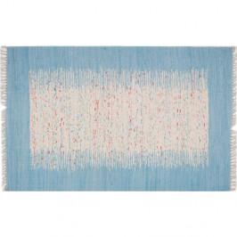 Koberec Contour Blue, 80 × 300 cm