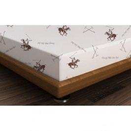 Bavlnená plachta Polo Brown, 180 × 240 cm