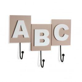Nástenný vešiak na oblečenie Versa ABC