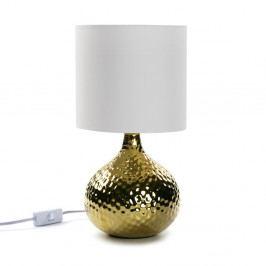 Zlatá stolová lampa Versa Metal