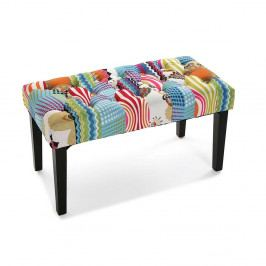 Dlhá stolička na nohách Versa Juneau