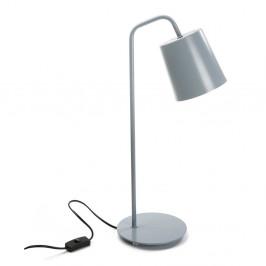 Sivá stolová lampa Versa Balance