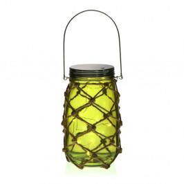 Zelený LED lampáš Versa Bottle