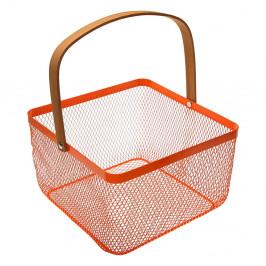 Oranžový košík s uchom Versa Maroda