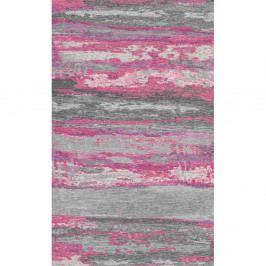 Sivo-ružový koberec Kate Louise Vintage, 110×160cm