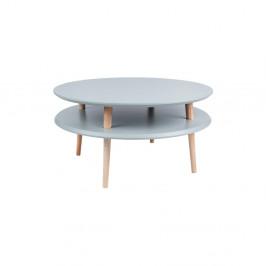 Tmavosivý konferenčný stolík Ragaba UFO,Ø70cm