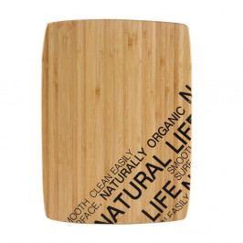 Bambusová doska na krájanie Bergner Nature, 30×22 cm
