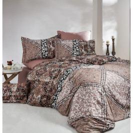 Bavlnené obliečky s plachtou na jednolôžko Royal Bed, 160 × 220 cm