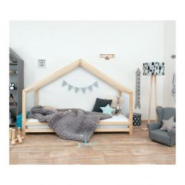 Detská posteľ z prírodného smrekového dreva Benlemi Sidy, 120 × 160 cm