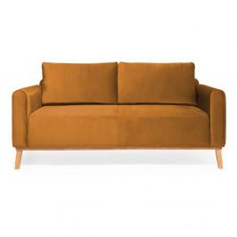 Horčicovožltá trojmiestna sedačka Vivonita Milton Trend