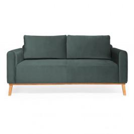 Oceľovomodrá trojmiestna sedačka Vivonita Milton Trend