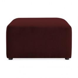 Vínovočervená podnožka Vivonita Velvet Cube