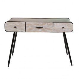 Konzolový stolík z jedľového dreva a železa Santiago Pons Urban