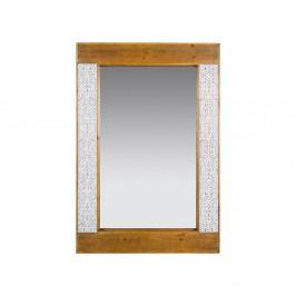Zrkadlo z jedľového dreva a železa Santiago Pons Nara