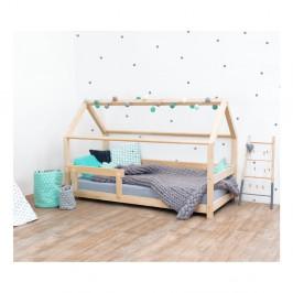 Prírodná detská posteľ s bočnicami zo smrekového dreva Benlemi Tery, 120×180 cm