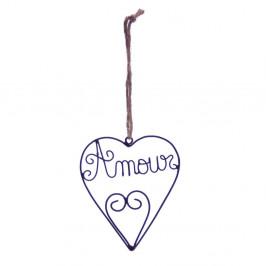 Závesná dekorácia Amour Antic Line