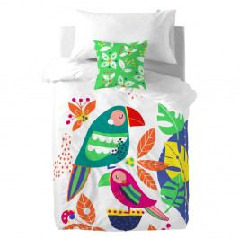 Obliečky Moshi Moshi Pretty Parrots, 140×200cm
