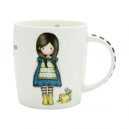 Hrnček z kostného porcelánu Santoro London Little Friend, 250 ml