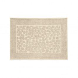 Hnedá bavlnená kúpeľňová predlozka Maison Carezza Ciampino, 50×70 cm