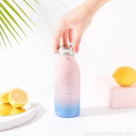 Farebná cestovná fľaša z nerezovej ocele Mr. Wonderful Powerful, 300 ml