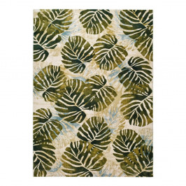 Zelený koberec Universal Tropics Multi, 200 × 290 cm