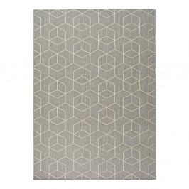 Sivý vonkajší koberec Universal Silvana Gusmo, 80 x 150 cm