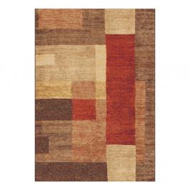 Hnedý koberec Universal Delta, 133×190 cm