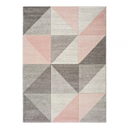 Ružovo-sivý koberec Universal Retudo Naia, 80×150 cm