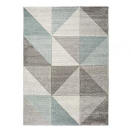 Modro-sivý koberec Universal Retudo Naia, 140×200 cm