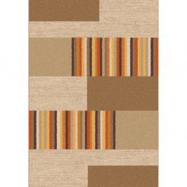 Hnedo-béžový koberec Universal Boras Beige, 57×110 cm