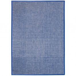 Modrý koberec MOMA Bios Liso, 170×240cm