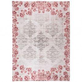 Sivo-ružový koberec Universal Alice, 80×150cm