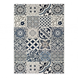Modrý koberec Universal Indigo Azul Mecho, 140×200 cm
