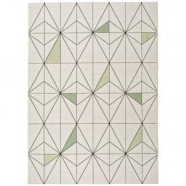 Biely koberec Universal Slate Blanco, 120×170 cm