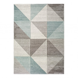Modro-sivý koberec Universal Retudo Naia, 60×120 cm