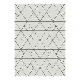 Biely koberec Universal Nilo, 57x110cm