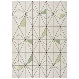 Biely koberec Universal Slate Blanco, 160×230 cm