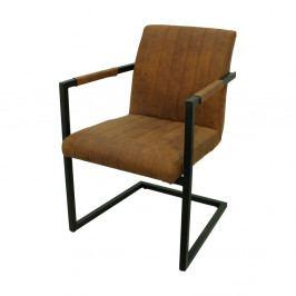 Koňakovo hnedá stoličky HSM collection Vegas