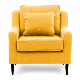 Žlté kreslo Vivonita Bond