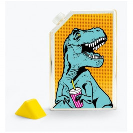 Cestovná fľaša Just Mustard T-Rex, 600 ml