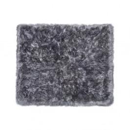 Sivý koberec z ovčej kožušiny Royal Dream Zealand, 130 x 150 cm
