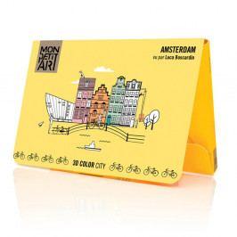 Panoramatická skladačka Mon Petit Art Amsterdam