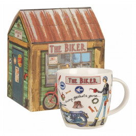 Hrnček z kostného porcelánu Churchill China The Biker, 400 ml